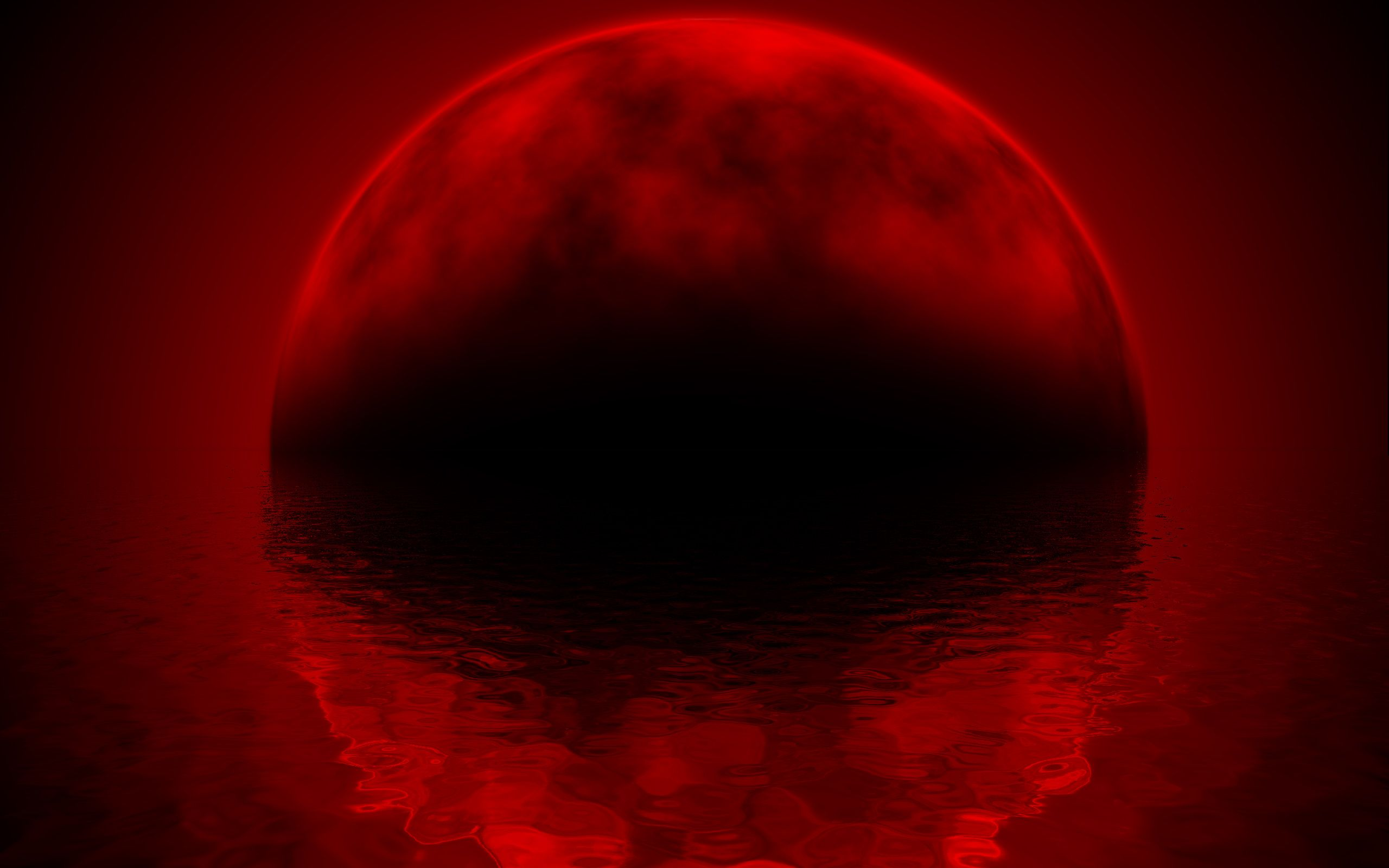black wallpapers and water red simple red and black