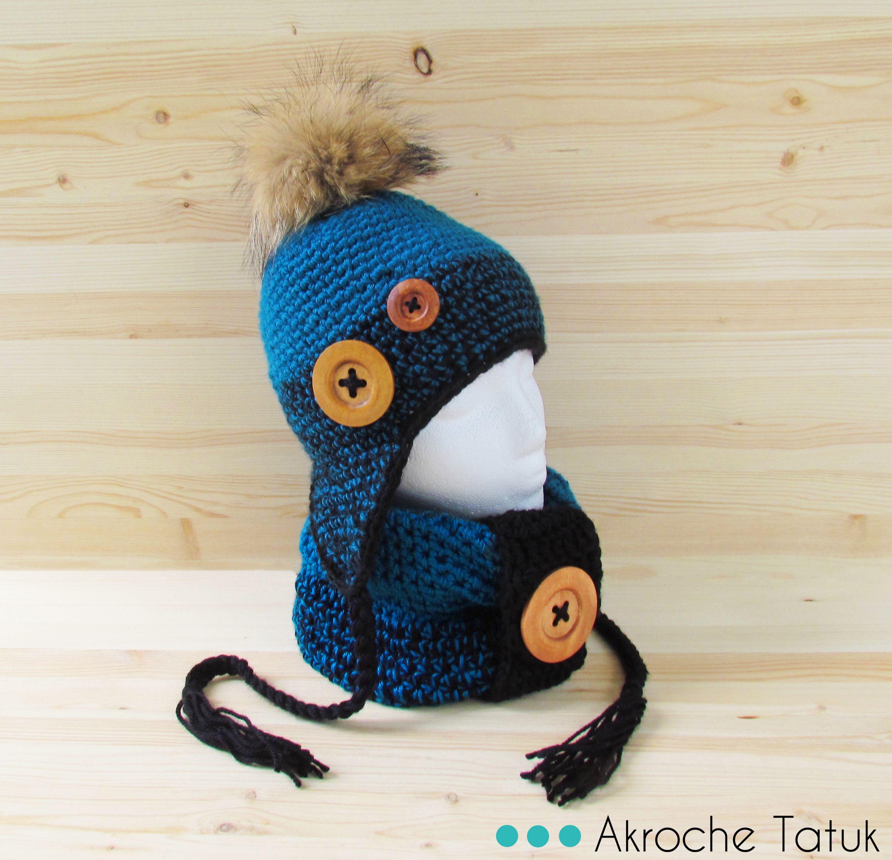 Atractivo Oído Crochet Cálido Con Arco Patrón Elaboración - Ideas de ...