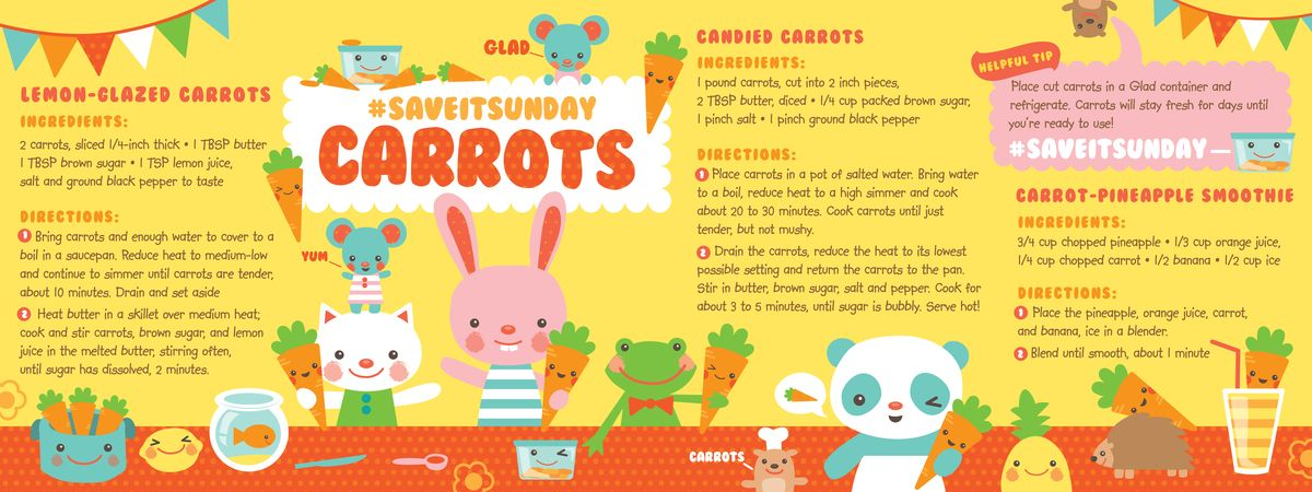 #SaveItSunday Carrots by Laura Mayes