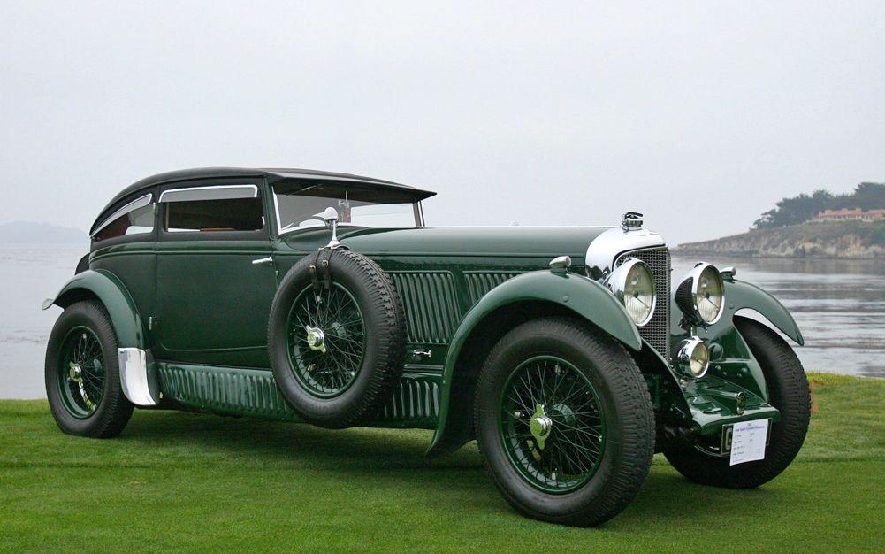 1930 Bentley 6 1/2Litre Blue Train Coupe Bentley speed