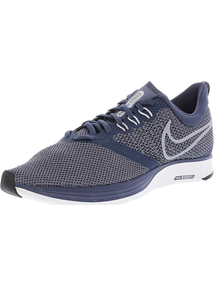 timeless design 0e6ee 88ed6 Nike Men s Zoom Strike Ankle-High Mesh Running Shoe