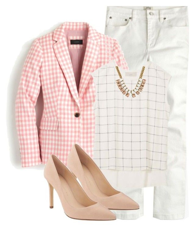"""Untitled #3348"" by my4boys ❤ liked on Polyvore featuring J.Crew and Banana Republic"