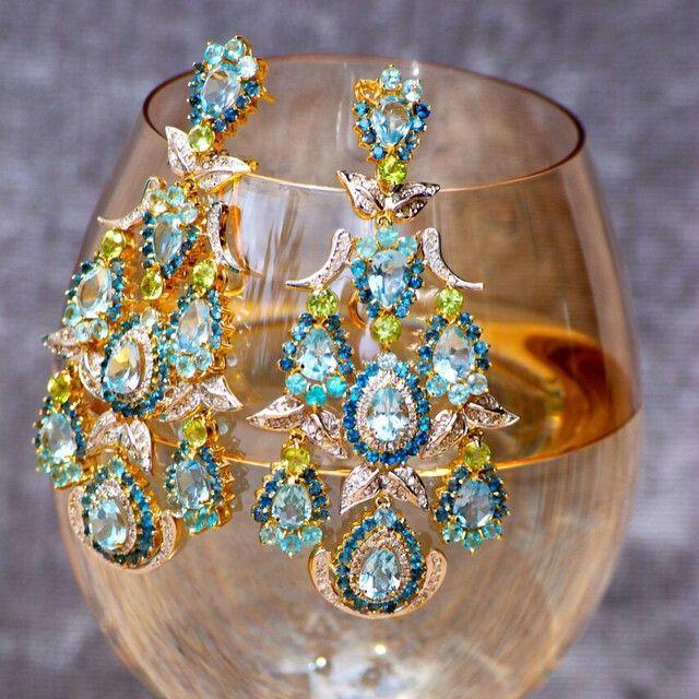 Enchante!!#dubai #luxuryjewellery  #luxury #beautifuljewellery @goldesignbrazilianjewellery