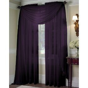 Eggplant Colored Curtains For My Living Room