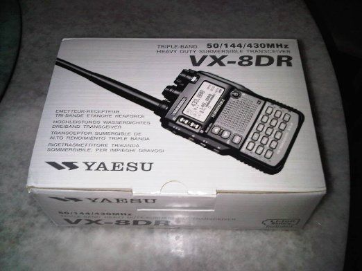 Amazon.com: Yaesu VX-8DR Quad-Band Submersible VHF/UHF Amateur Radio Transceiver: Cell Phones & Accessories