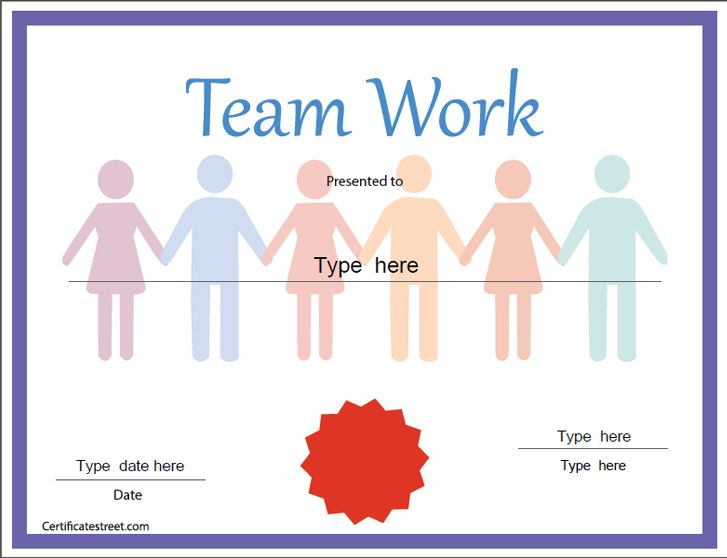 teamwork-award Classroom Certificates Pinterest Certificate - award certificates word