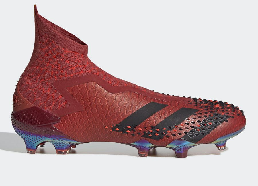 Adidas Predator Mutator 20 Adv Fg Dragon Collegiate Burgundy Core Black Solar Red Footballboots Adidasfootball In 2020 Adidas Predator Football Boots Adidas