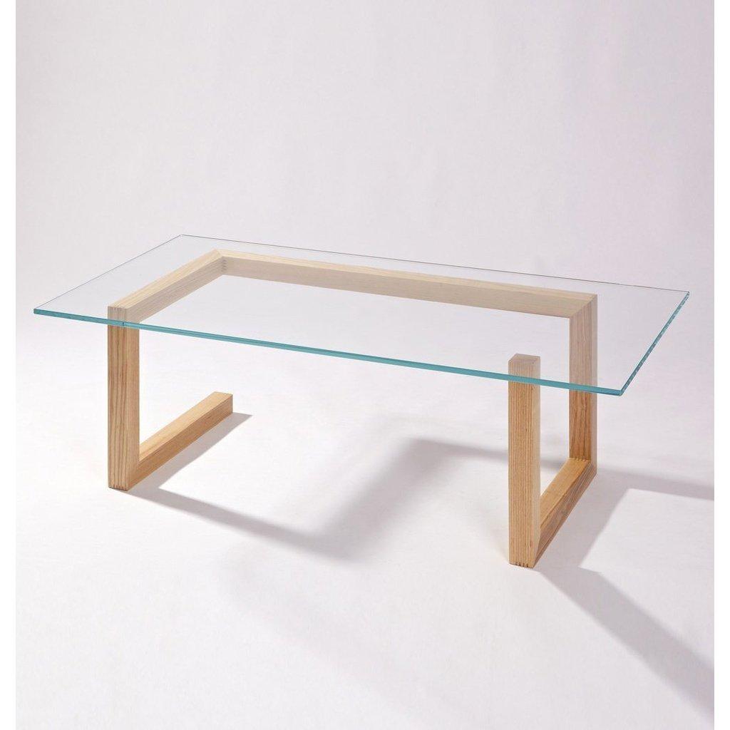 Mia Coffee Table Glass Wood Modern Scandinavian Gfurn Glass Wood Table Coffee Table Wood Wood Table Design [ 1024 x 1024 Pixel ]