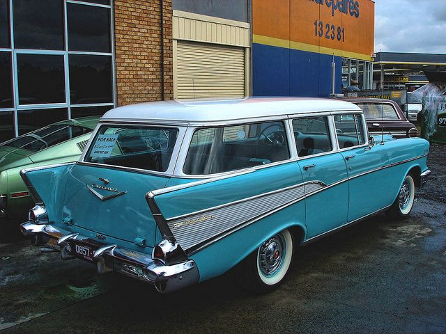 1957 Chevrolet 210 Station Wagon Station Wagon 1957 Chevrolet