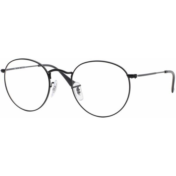 01d76cefb2 ... discount ray ban rx3447v round metal eyeglasses 168 via polyvore  featuring accessories eyewear 51709 f3f37
