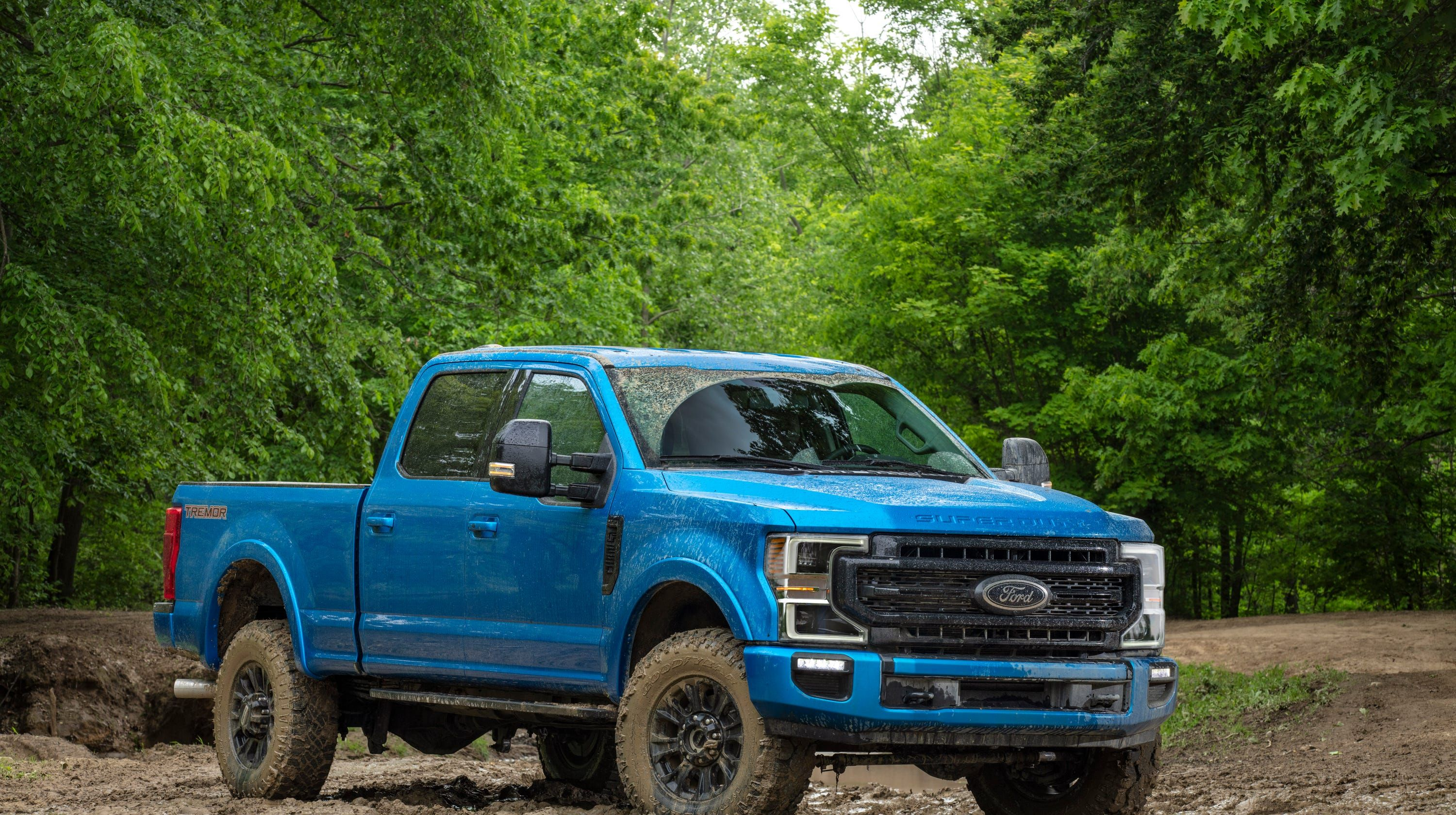 Ford F Series Super Duty Pickup Truck Gets Tremor Off Road Package