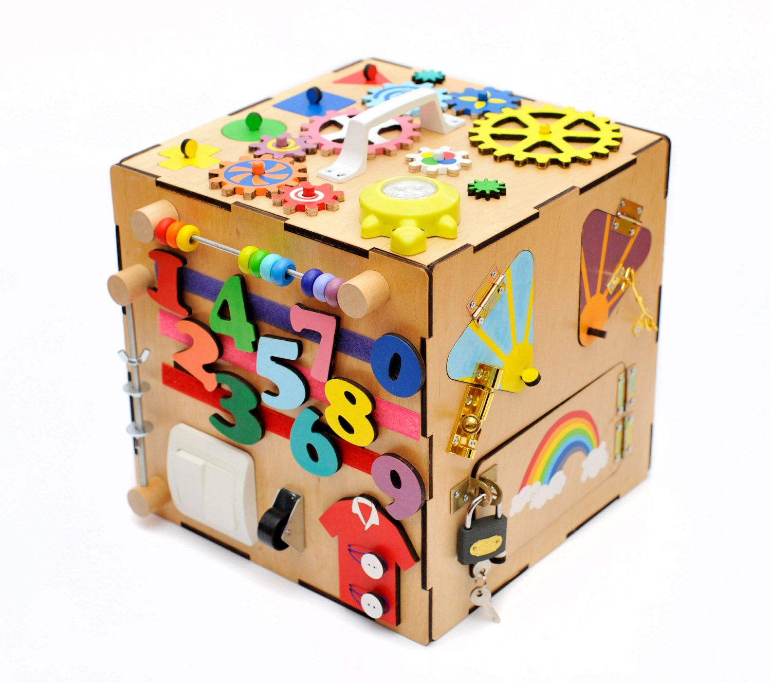 Personal Busy Box Busy Board Sensory board Activity board
