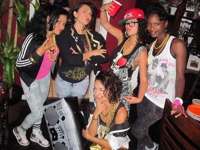 80s women hip hop fashion | Party Times | Party outfits for
