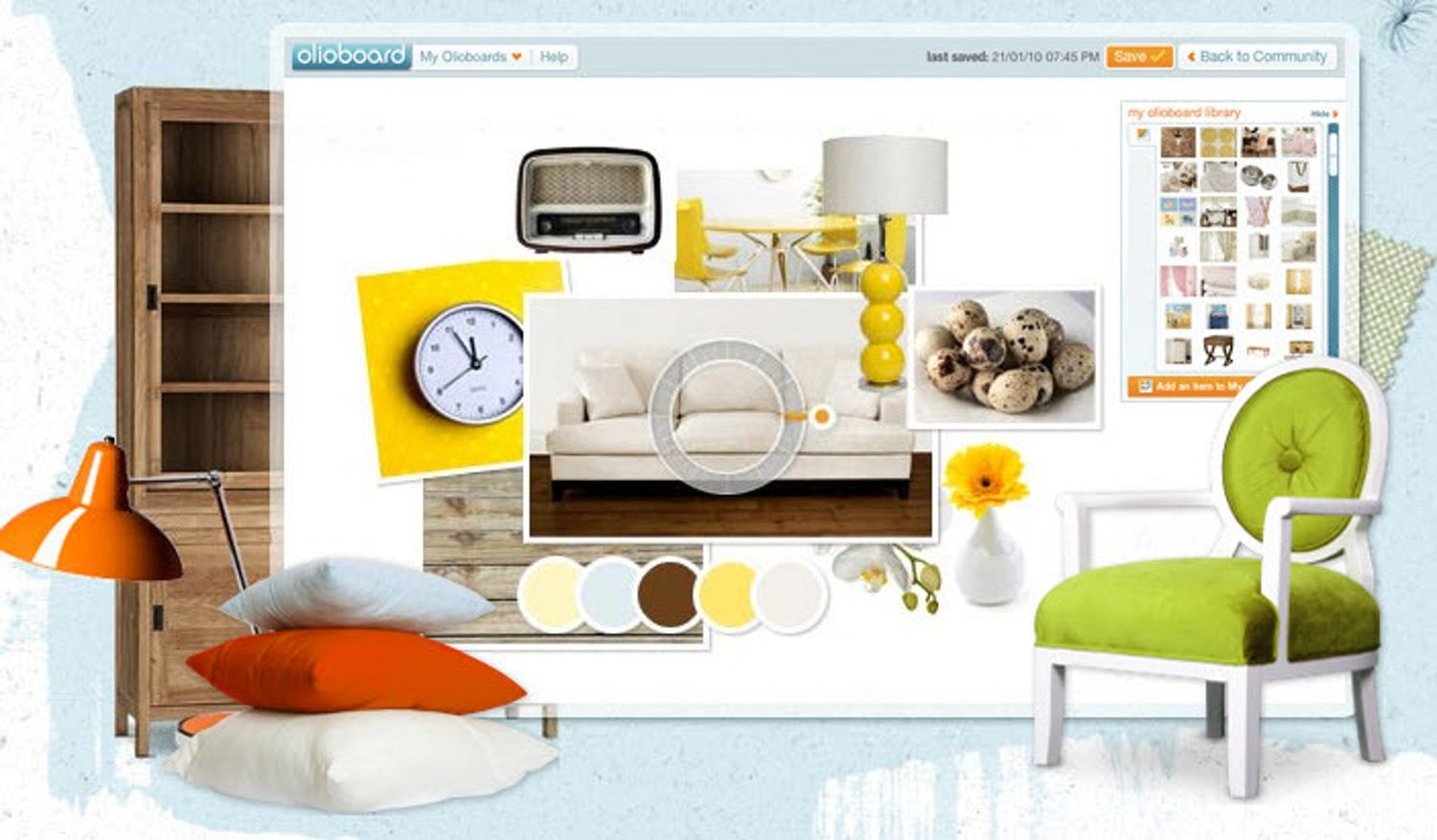 Olioboard Online Interior Design Mood Board App With Images