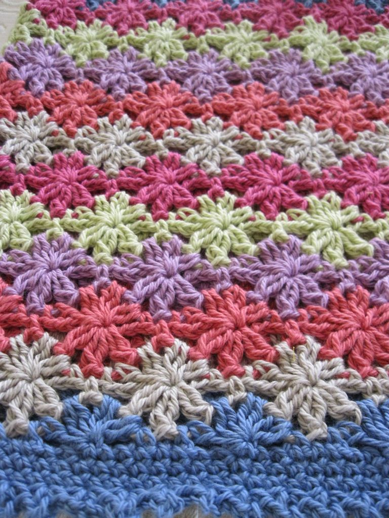 Floreal top, crocheted in BWM 8ply cotton | Flickr - Photo Sharing!