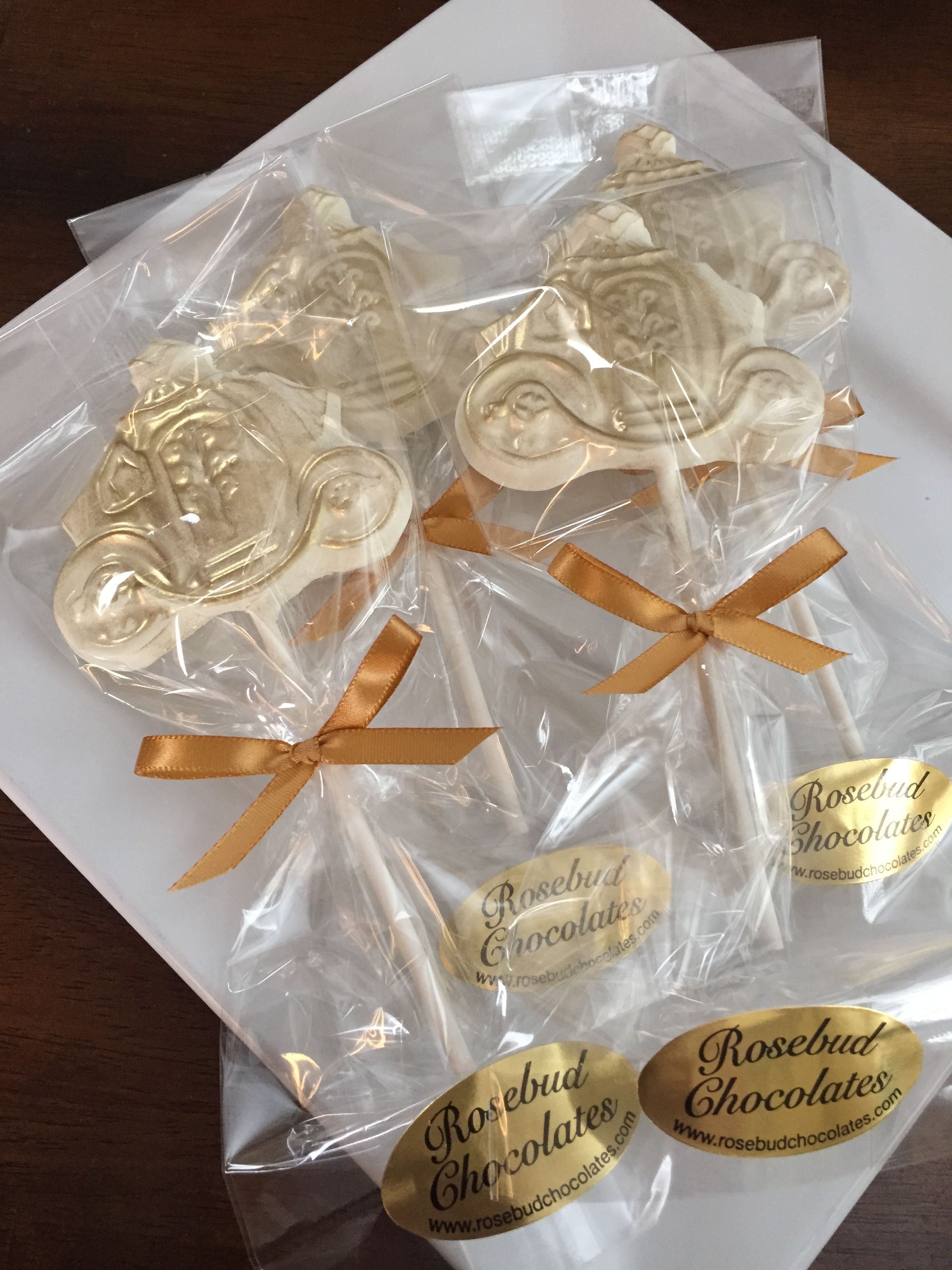 Princess Candy FavorsWedding IdeasChocolate Gold Dusted