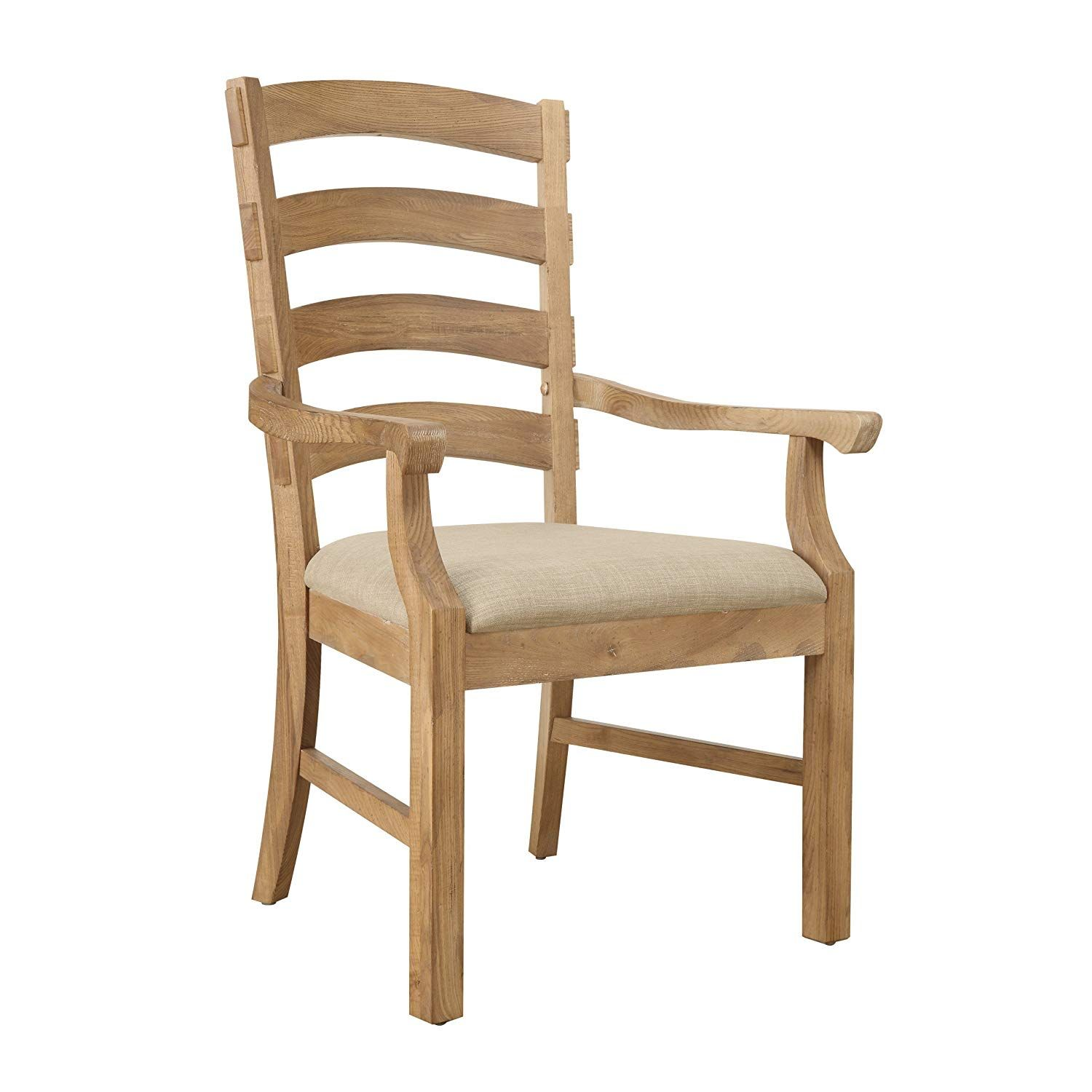 Emerald Home Bel Air Brown Dining Chair with Upholstered