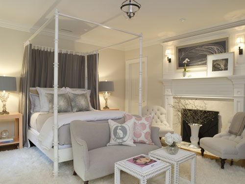Add A Coffee Maker And Youu0027d Never Need To Leave This Bedroom! By