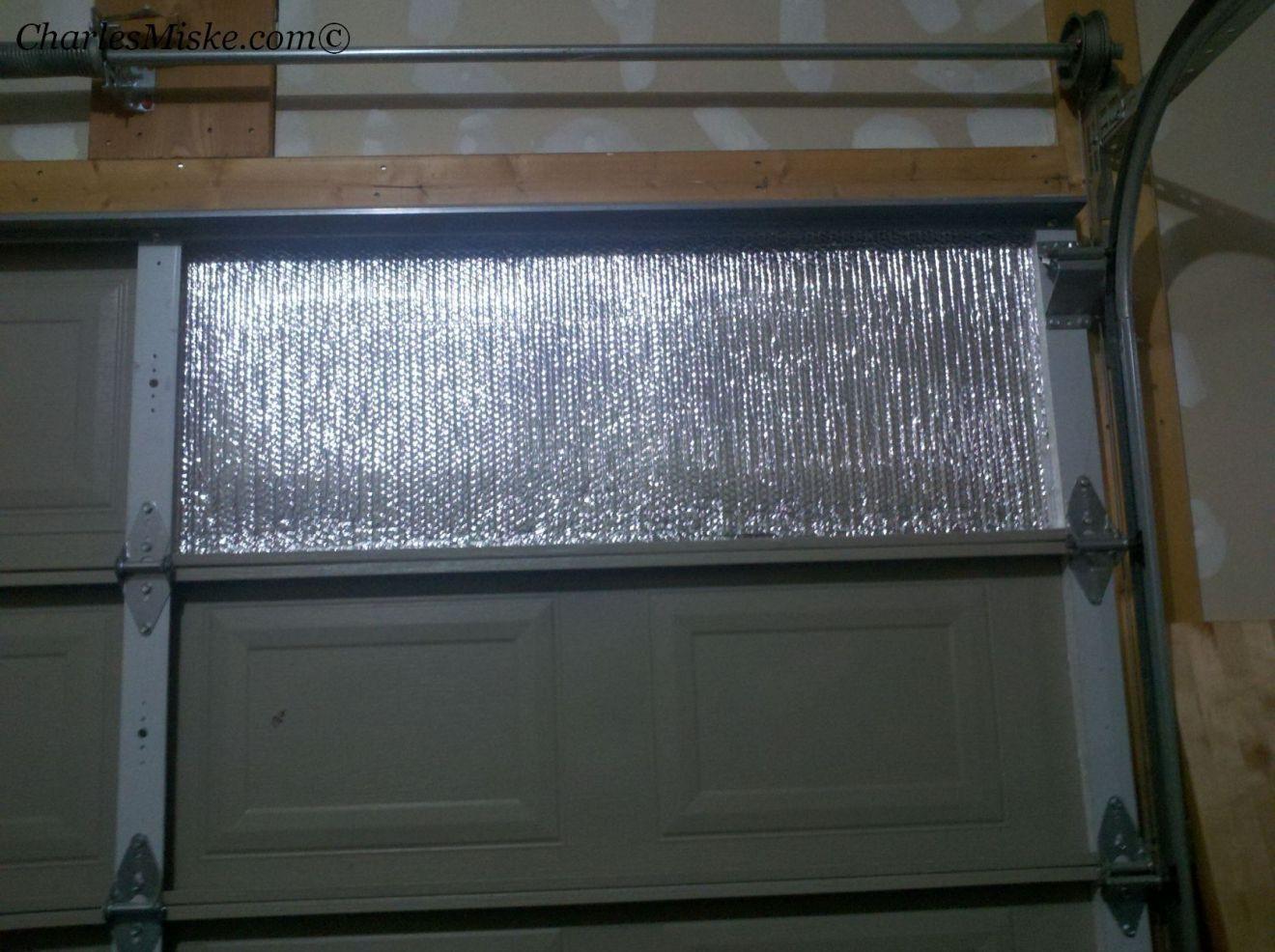 Insulate a Garage Door Charles Miske Garage insulation