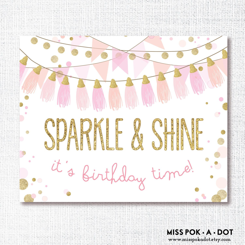 Sparkle And Shine Instant Download Printable Digital