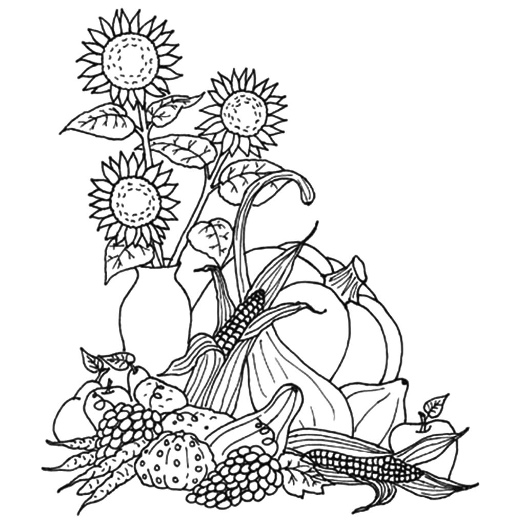 40++ Printable thanksgiving coloring pages for adults information