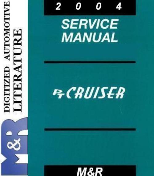2004 Pt Cruiser Chrysler Service Manual   Diesel Serv Manual