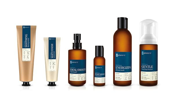 phenome organic skincare products on packaging design served bio pinterest package. Black Bedroom Furniture Sets. Home Design Ideas