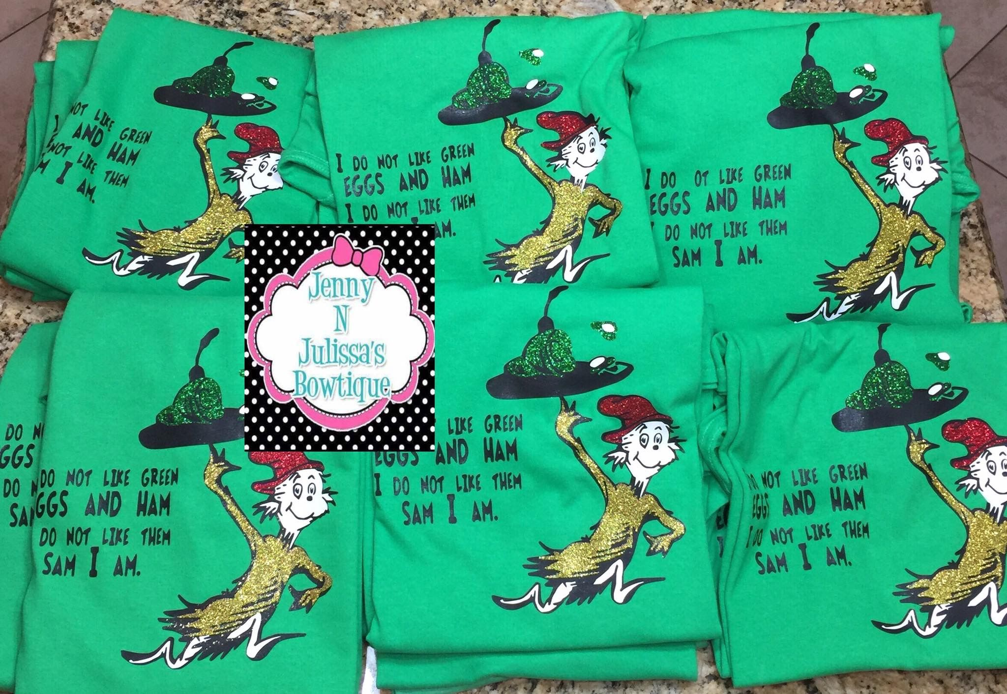 Green Eggs And Ham Shirts Dr Seuss Outfits Green Eggs