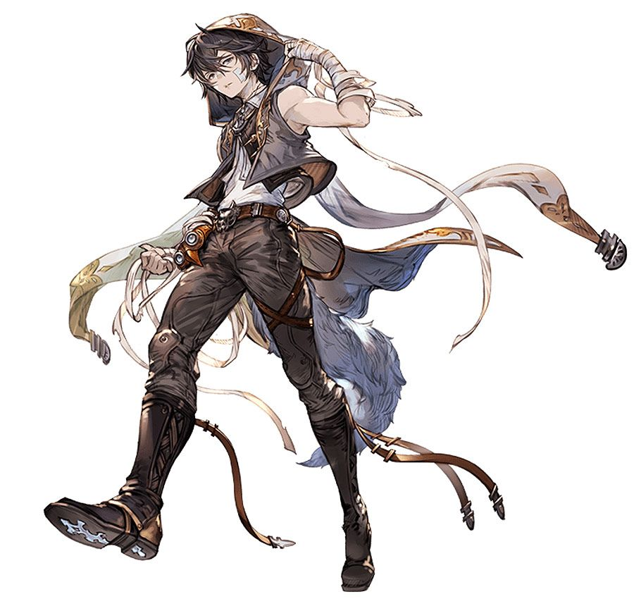 Granblue Fantasy Art Gallery Containing Characters Concept And Promotional Pictures