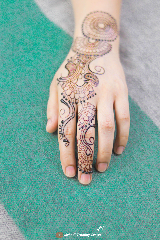 أجمل تصاميم عيد مهندي ٢٠٢٠ للفتيات العربيات حناء جميلة جديدة تصميم للفتيات العربيات الجميلات Henna Hand Tattoo Hand Henna Hand Tattoos