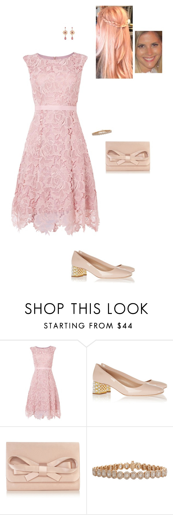 """Sem título #7193"" by gracebeckett on Polyvore featuring moda, Phase Eight, Miu Miu, Coast, Inbar e Chanel"