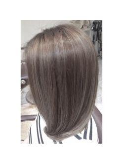 オーシャンブルージュ Specialハイライトカラー 髪 カラー 髪の毛