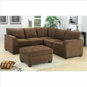 Suede Wrap Around Couch Sectional Sofa Sofas For Small