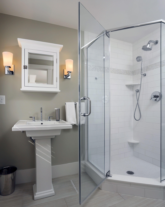 An Emerging Bathroom Trend Zero Threshold Shower Bathroom