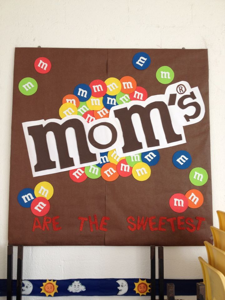 Classroom Ideas For Mothers Day ~ May bulletin board mom s day ideas