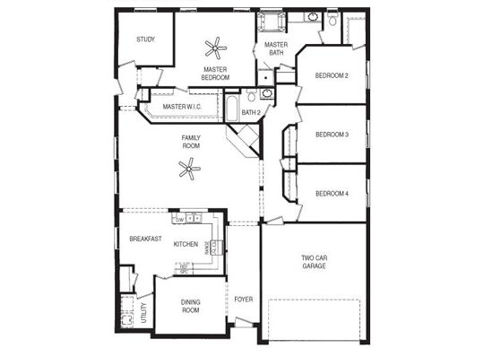 single story home plans 4 bedrooms house of samples
