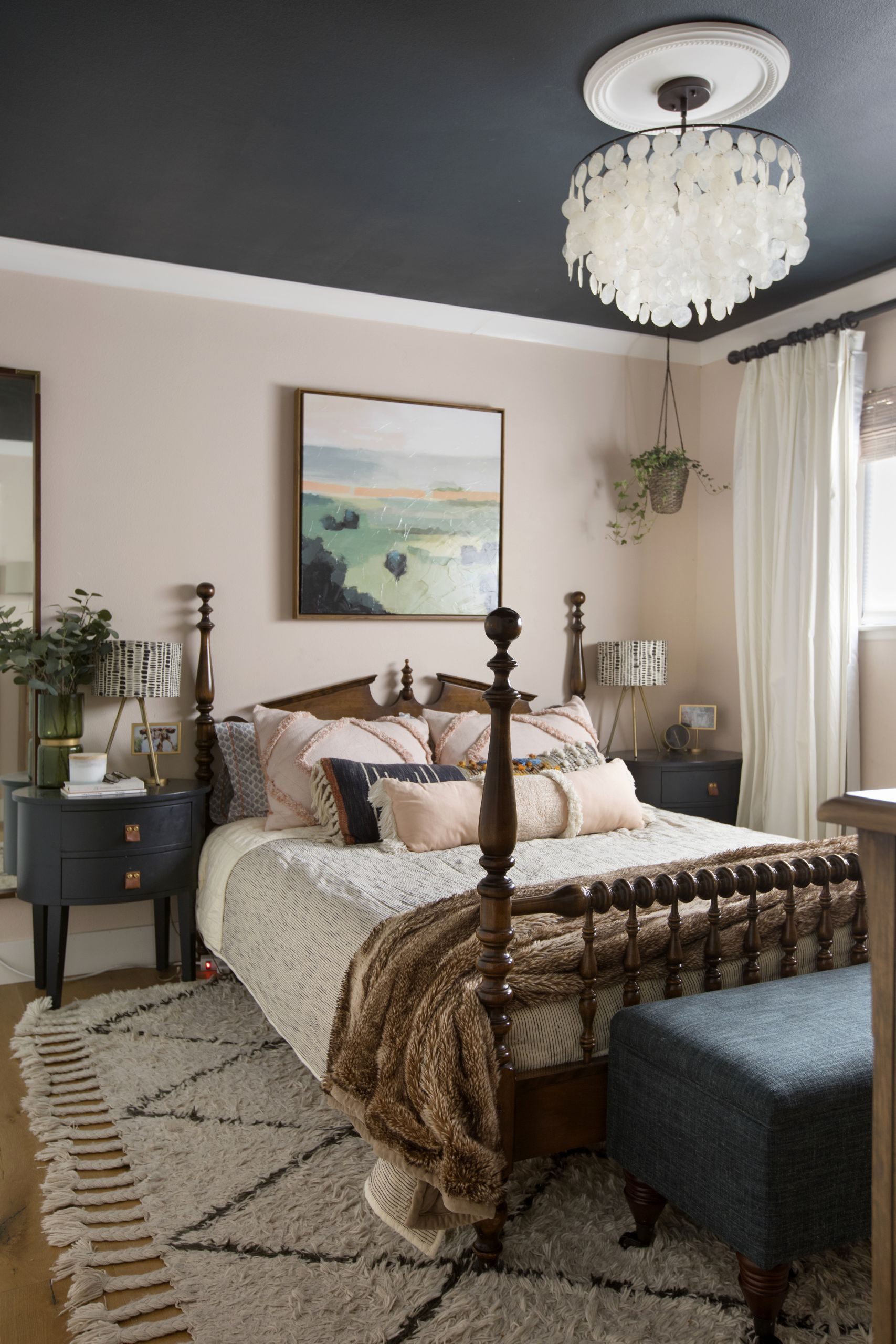 Bedrooms Lighting Ideas Ceiling Best Of Tract Home Renovation House Tour S In 2020 Fall Home Decor Home Bedroom Ceiling