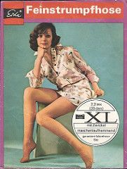 Covers of pantyhose packages