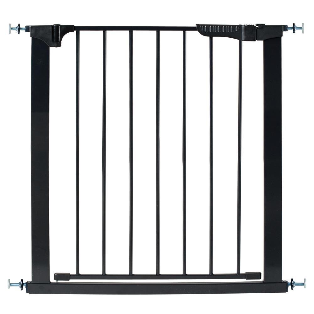 Kidco 29 5 In H Pressure Mount Gate Auto Close Gateway In Black G1101 Pet Gate Gate Baby Gates