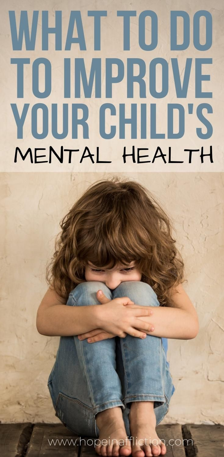 So much can be done to improve your child's mental health. Read 5 of the best things you can do to help your child stay mentally healthy. #mentalhealth #parenting #parentingadvice #tips #family #momlife #hopeinaffliction