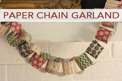 101 Days of Christmas: Paper Chain Garland