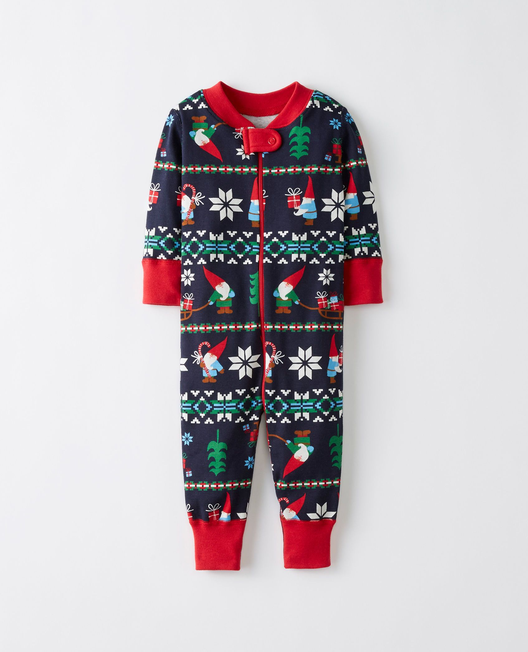 d829014334b1 Night Night Baby Sleepers In Pure Organic Cotton in Gnome Sweet ...