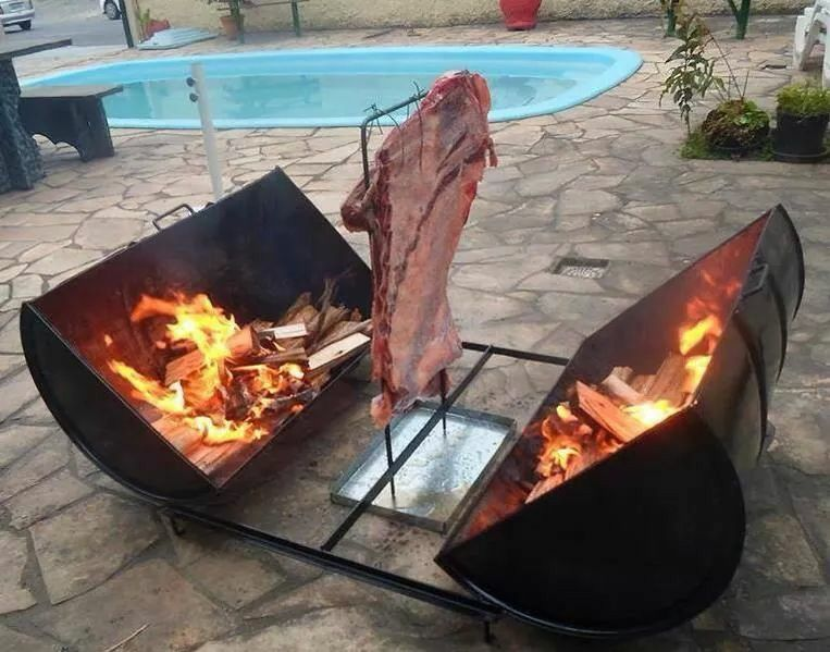 Muy bueno el asador portatil ideas varias diy for Ideas para barbacoa