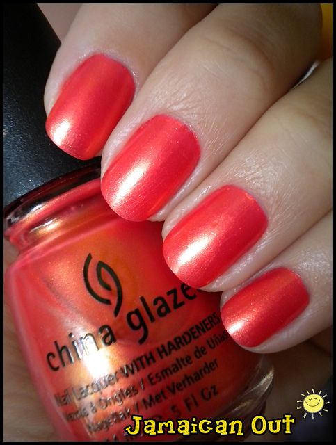 China Glaze Jamaican Out My China Glaze Nail Polish Colors China Glaze Nail Polish