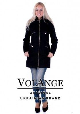 09d2b9aa355 Женское демисезонное пальто VOL ange Лана
