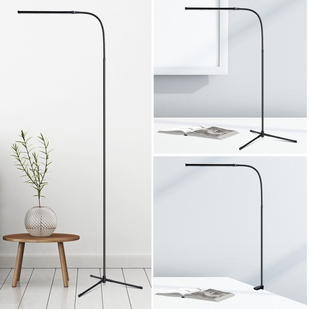 3in1 Dimmable LED Floor Lamp Adjustable Height and Angle