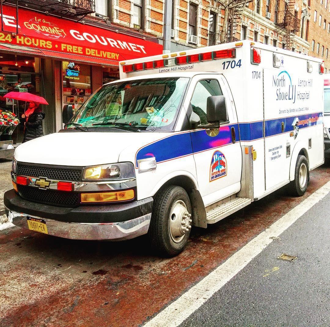 NORTH SHORE LIJ LENOX HILL HOSPITAL EMS AMBULANCE OPERATING