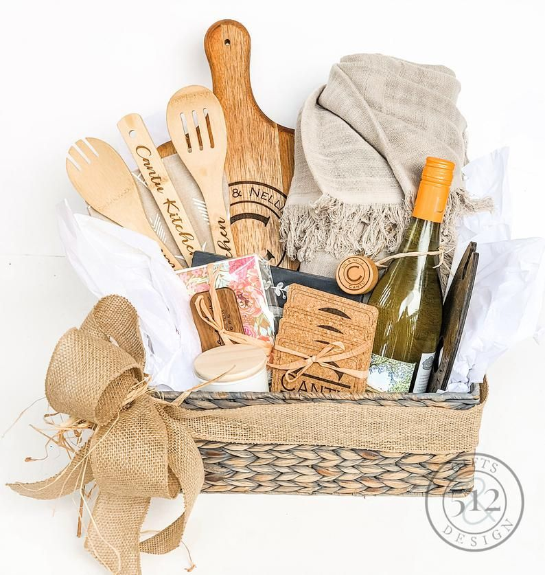 Best Real Estate Client Christmas Gifts 2020 Custom Gift Basket, New Home Housewarming Gift Personalized