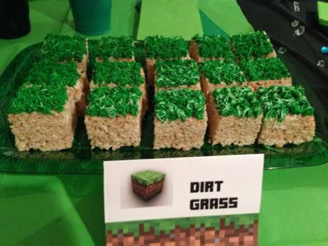 Minecraft birthday party cumpleaos minecraft dirt grass recipe minecraft birthday minecraft party minecraft party idea minecraft forumfinder Gallery