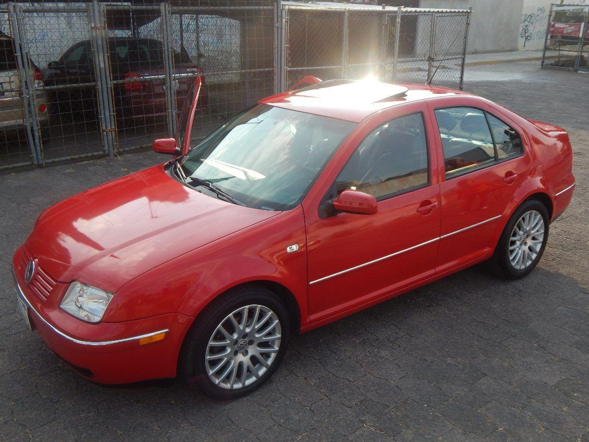 Volkswagen Jetta Sportline 1 8 Turbo 2004 Rojo  Piel